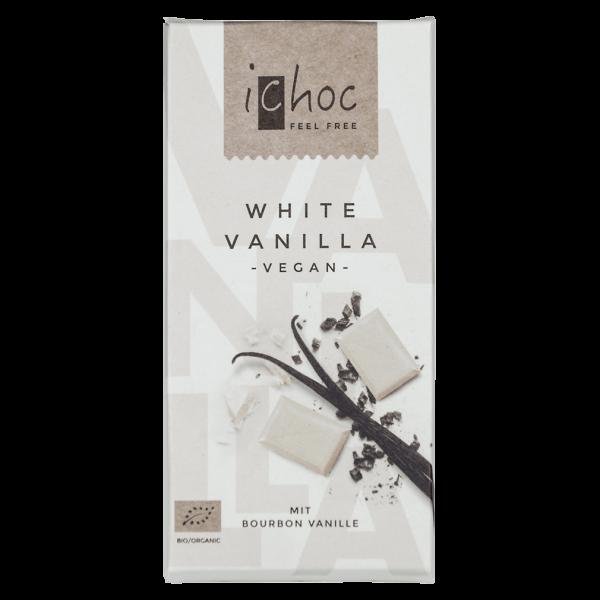 iChoc Bio White Vanilla Schokolade