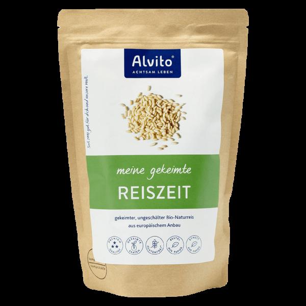Alvito Bio ReisZeit gekeimter, ungeschälter Bio-Naturreis