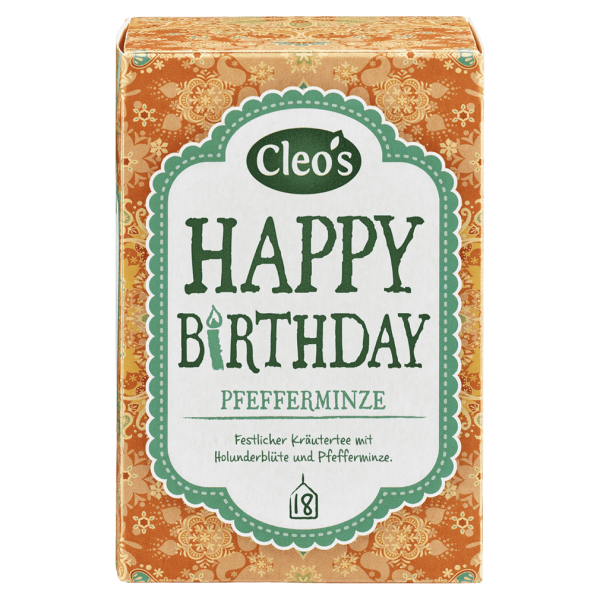 Cleo's Bio Happy Birthday Tee