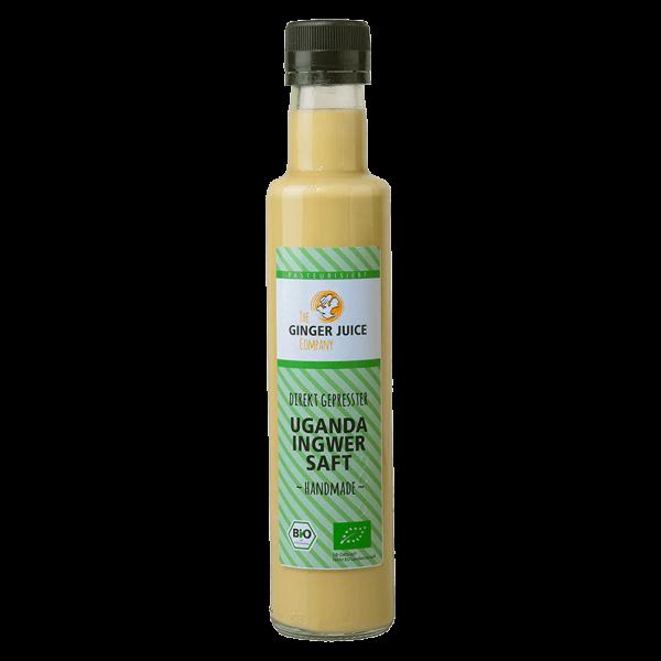 Ginger Juice Bio Ingwersaft Uganda