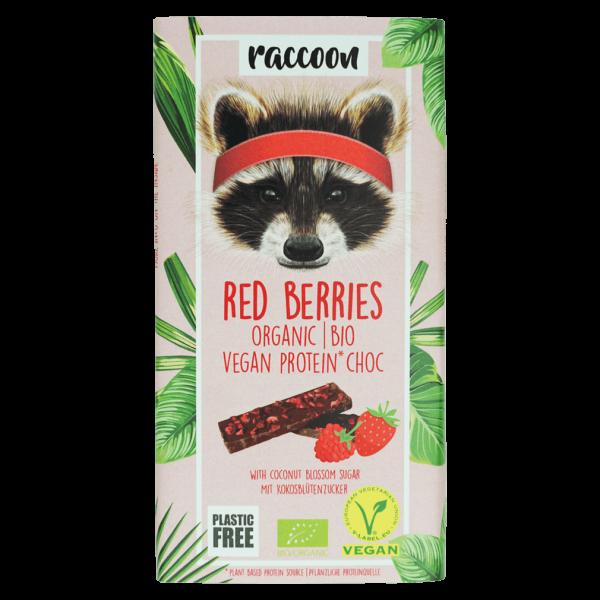 raccoon Bio Protein Choc Red Berries