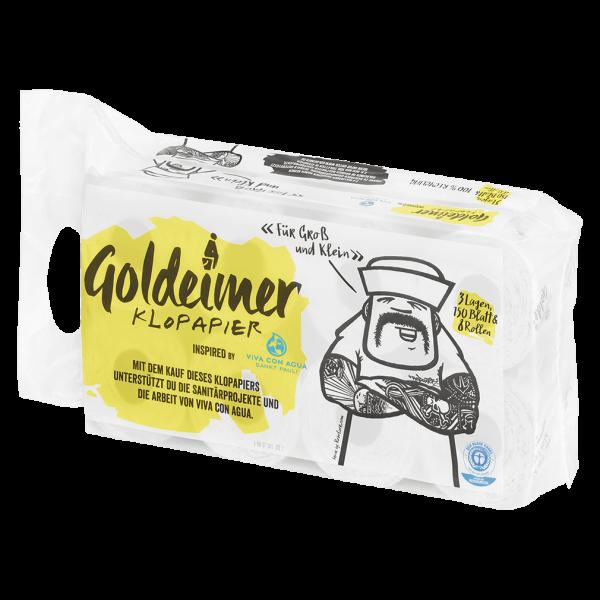 Wepa Goldeimer Toilettenpapier