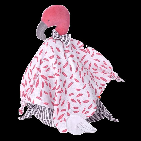 kikadu Schmusetuch Flamingo