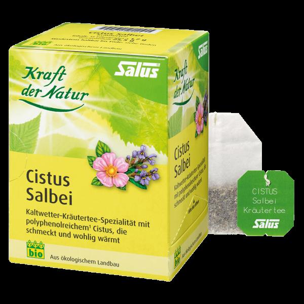 Salus Bio Cistus Salbei, 15 Filterbeutel