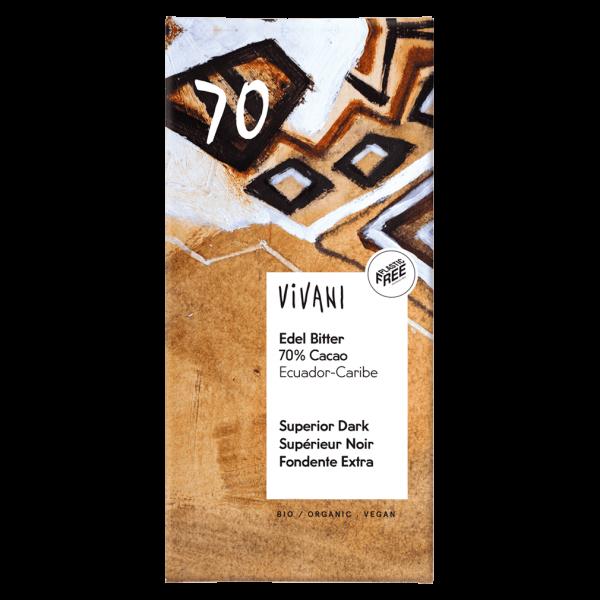Vivani Bio Edel Bitter 70% Cacao