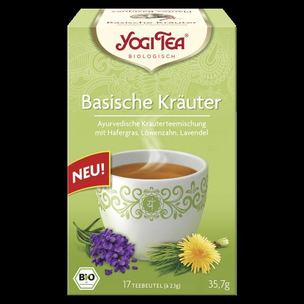 Yogi Tea Bio Basische Kräuter, 17 Teebeutel