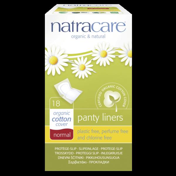 Natracare Natürliche Slipeinlagen normal, 18 St Packung