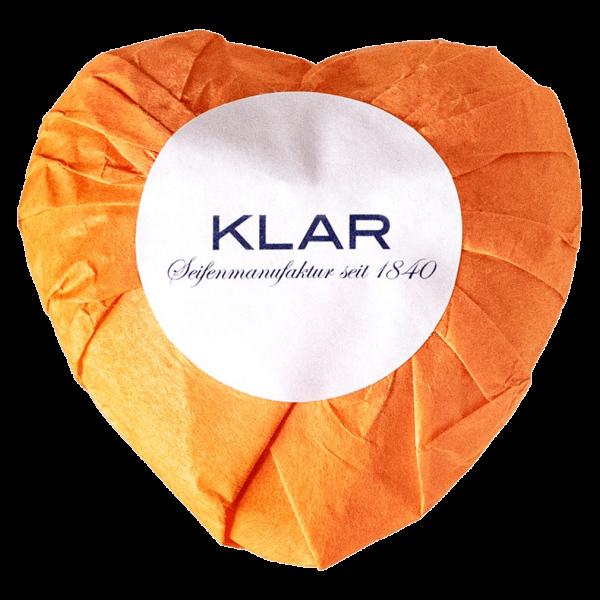 Klar Seifen Klar's Orangenherz