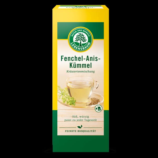 Lebensbaum Bio Fenchel-Anis-Kümmel-Tee, 20Btl.