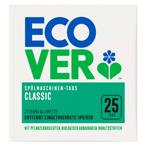 Ecover Classic Spülmaschinen-Tabs Zitrone