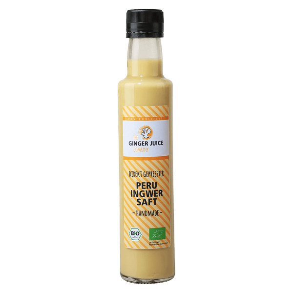 Ginger Juice Bio Ingwersaft Peru
