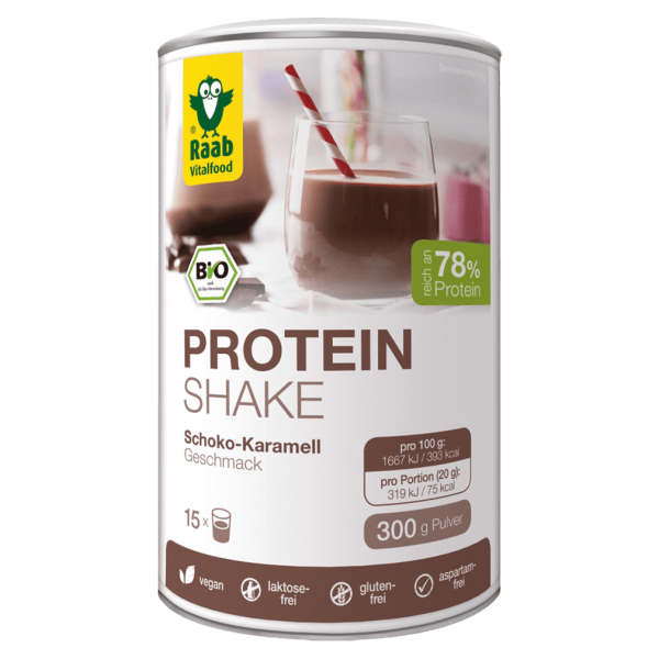 Raab Vitalfood Bio Protein Shake Schoko-Karamell