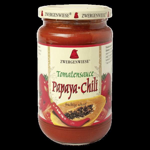 Zwergenwiese Bio Tomatensauce Papaya-Chili