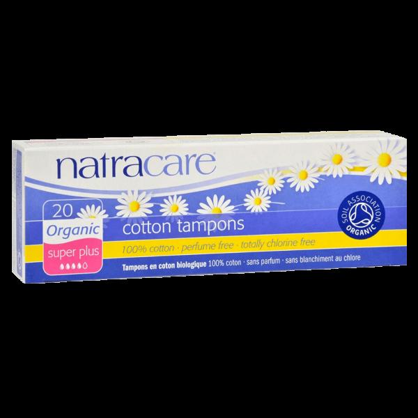 Natracare Bio Baumwoll Tampons Super Plus