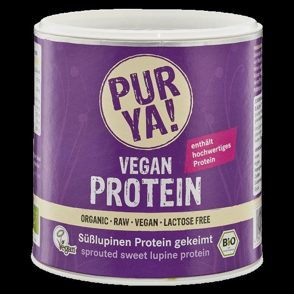 PURYA! Bio Vegan Protein Süßlupinen Protein gekeimt