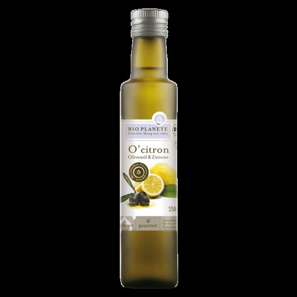 Bio Planète Bio O'citron Olivenöl & Zitrone, 250 ml