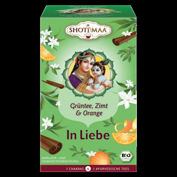 Shotimaa Bio In Liebe Grüntee, Zimt & Orange