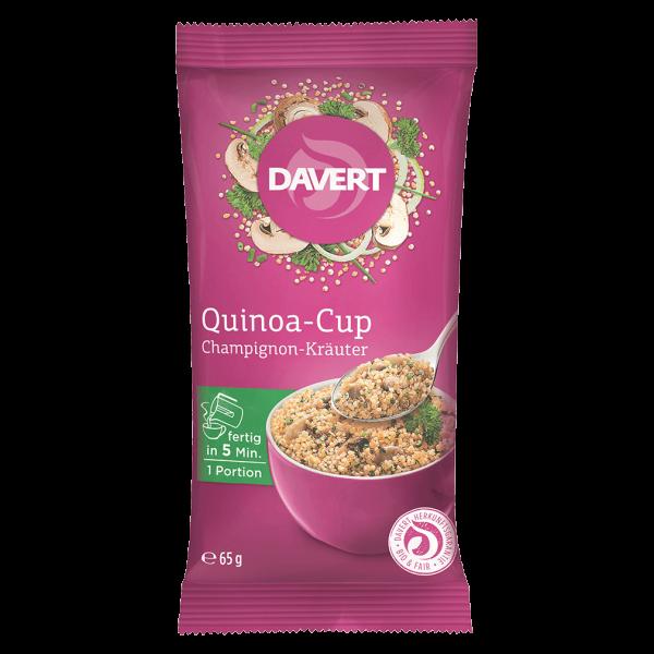 Davert Bio Quinoa-Cup Champignon-Kräuter