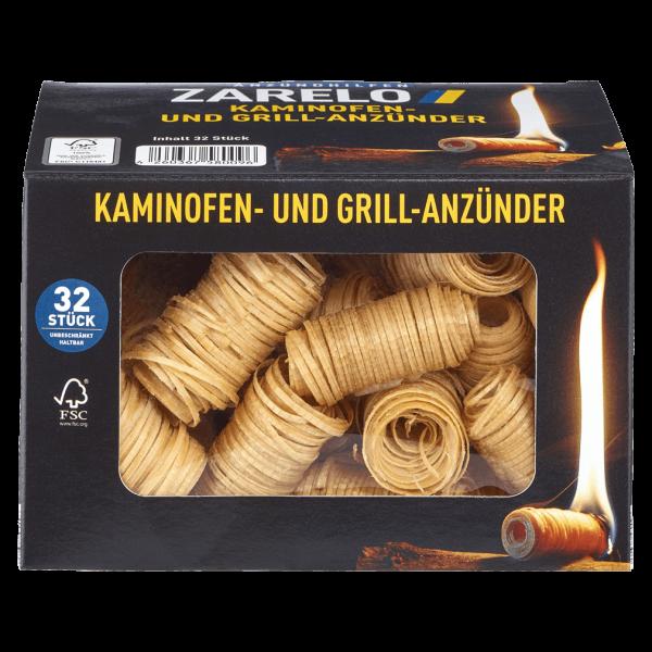Zarelo Kaminofen- und Grillanzünder