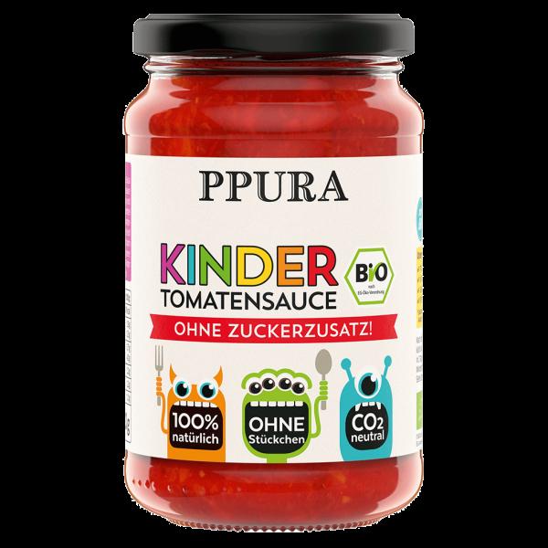 PPura BIO Sugo Kinder - Tomatensauce ohne Zuckerzusatz