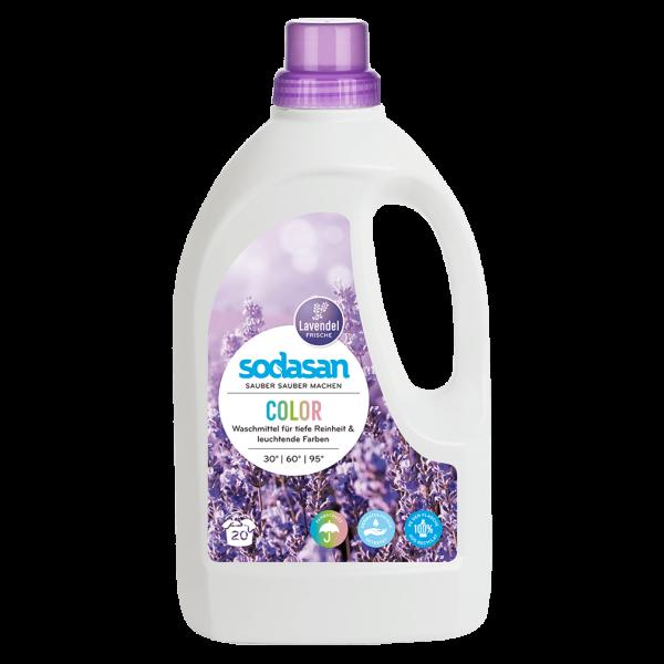 Sodasan Color Lavendel Flüssigwaschmittel, 1,5l