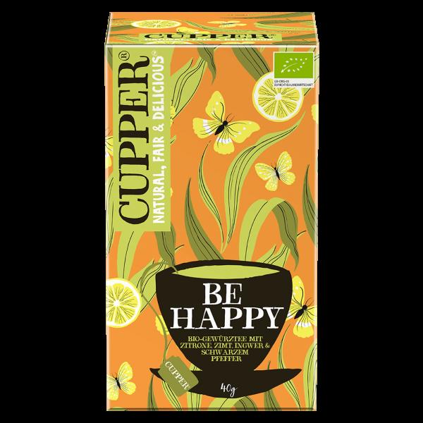 Cupper Bio Be Happy Gewürtztee, 40g