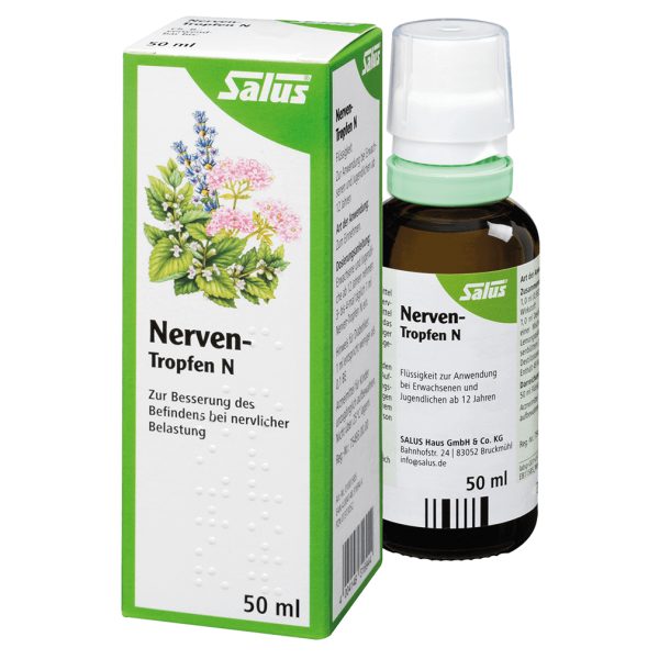Salus Nerven Tropfen N Bio, 50 ml