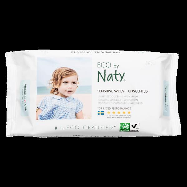 Naty  Öko Feuchttücher sensitiv (parfümfrei)