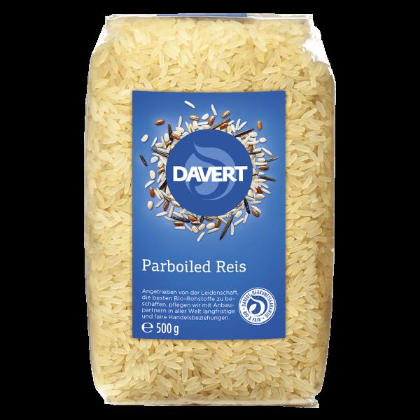 Davert Bio Parboiled Reis