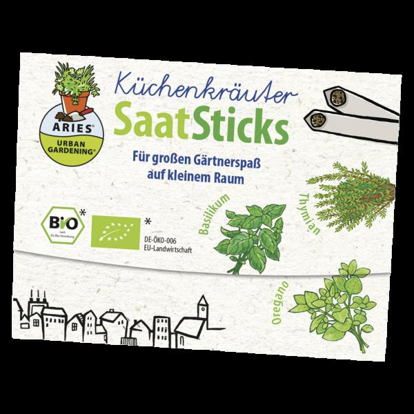 Aries Bio Saatsticks Küchenkräuter