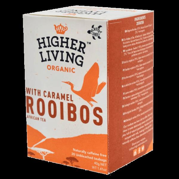 Higher Living Bio Rooibos Karamell, 20Btl