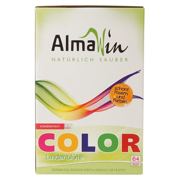 AlmaWin Color Waschpulver Lindenblüte