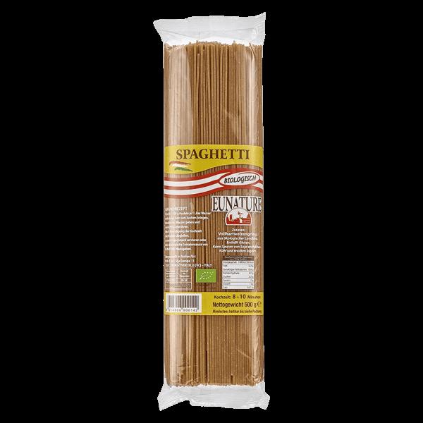Eunature Bio Spaghetti Vollkorn