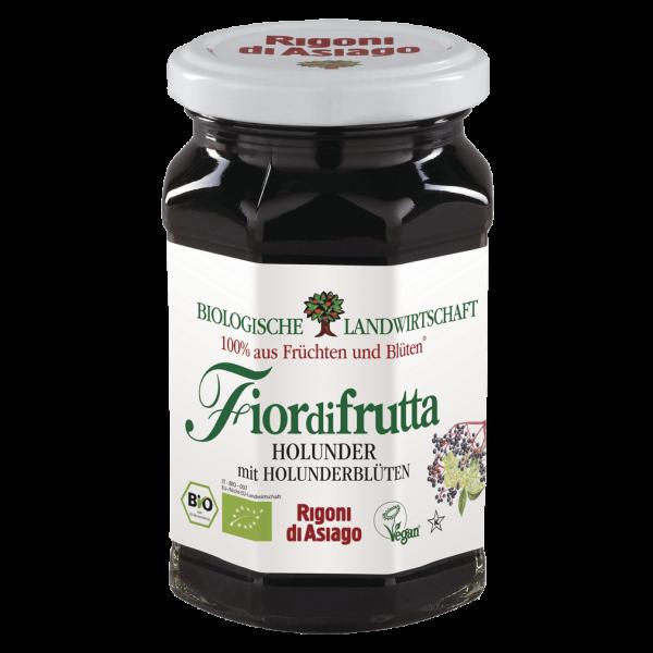 Rigoni di Asiago Bio Fiordifrutta Holunder mit Holunderblüten, 250g