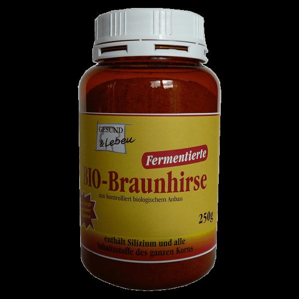 Gesund & Leben Bio Braunhirse fermentiert