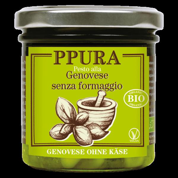 Bio Pesto Genovese ohne Käse