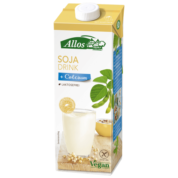 Allos Bio Soja Calcium Drink, 1l