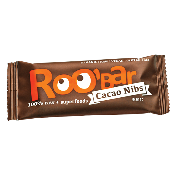 Bio Kakaonibs-Mandeln Riegel