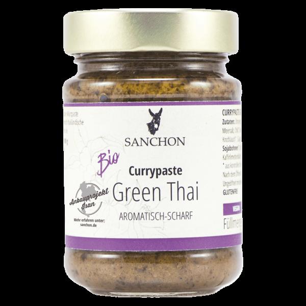 Sanchon Bio Green Thai Currypaste
