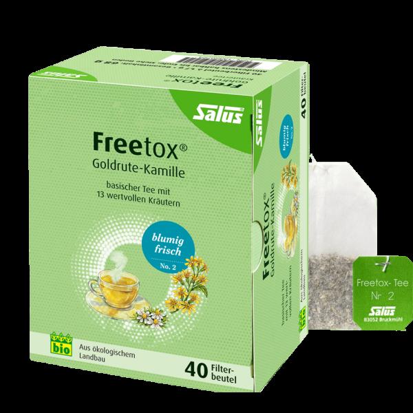 Salus Bio Freetox Tee Goldrute-Kamille, 40Btl
