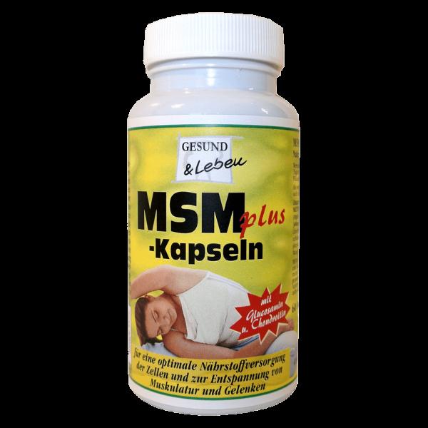 Gesund & Leben MSM Plus Kapseln