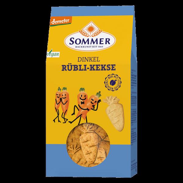 Sommer Bio Dinkel Rübli Kekse
