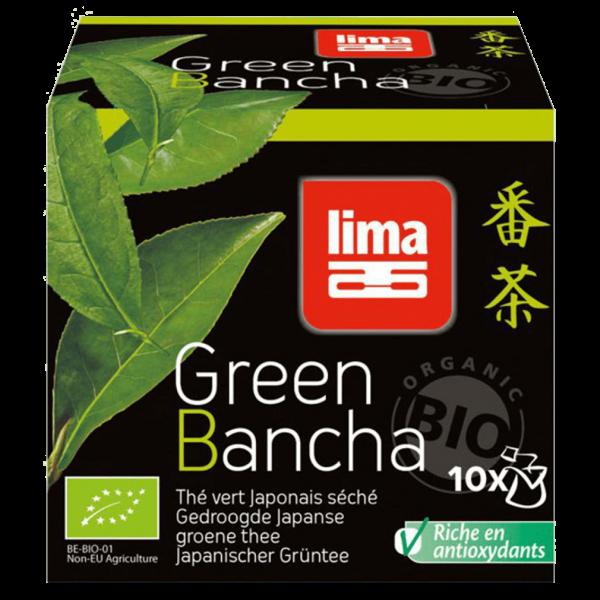 Lima Bio Green Bancha Grüntee
