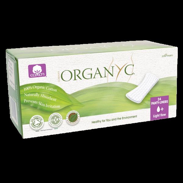 Organyc Slipeinlagen flach