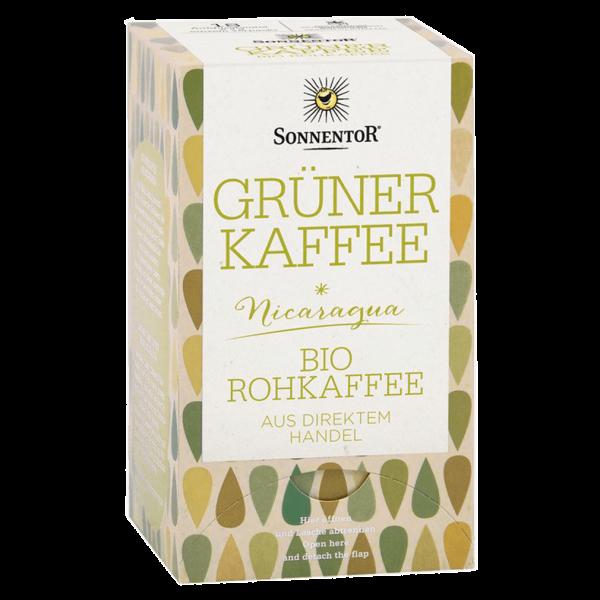 Bio Grüner Kaffee 18 Aufgussbeutel