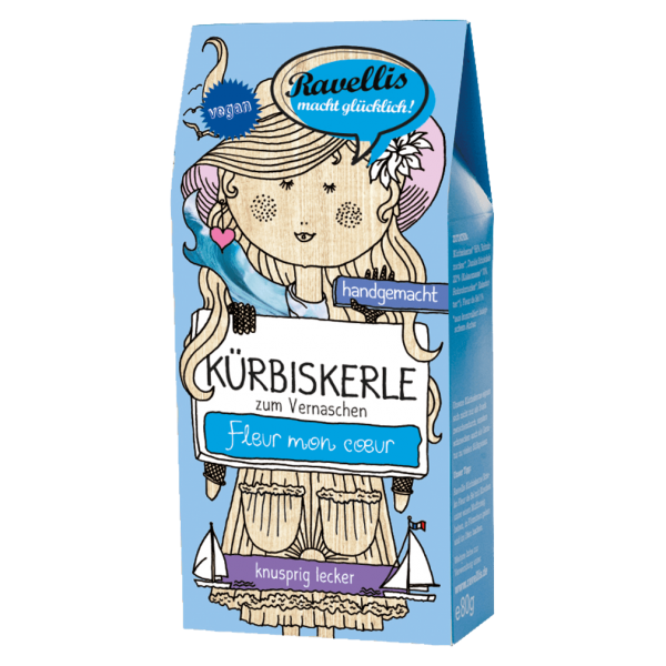 Bio Kürbiskerne Dunkle Schoko-Fleur de Sel
