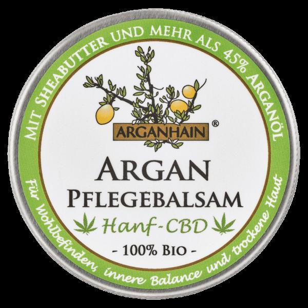 Arganhain Bio Argan Pflegebalsam Hanf CBD