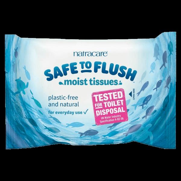 Natracare Feuchtes Toilettenpapier 30 St Packung