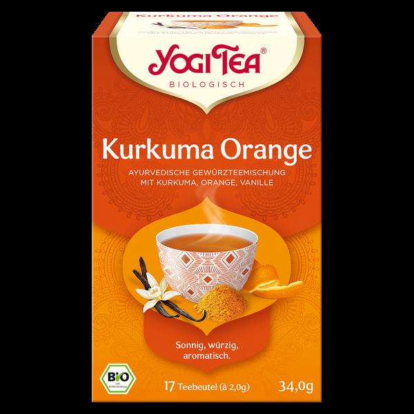 Yogi Tea Bio Kurkuma Orange Tee
