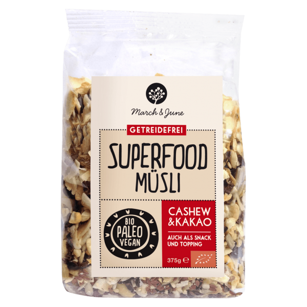 Bio Superfood Müsli Cashew & Kakao